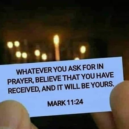 Ask...Believe...Receive